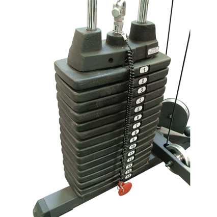 Body-Solid Optional Weight Stack of 68 kg for GPR400 - SP150