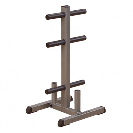 Body Solid Olympic Plate Tree & Bar Holder - GOWT