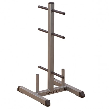 Body Solid Standard Plate Tree & Bar Holder GSWT